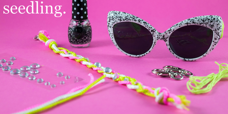 Seedling DIY Kits - Design Your Own Sunnies and Make Your Own Rope Bangles