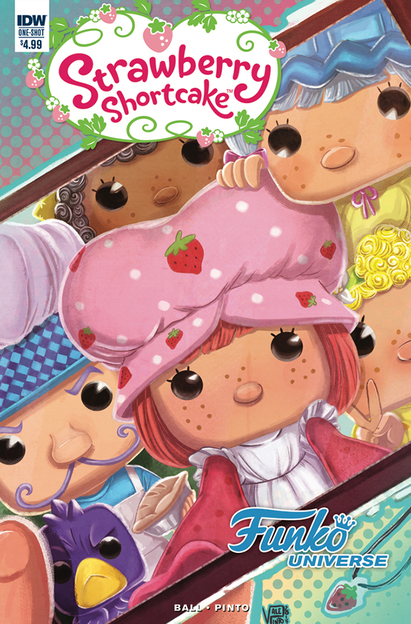 Strawberry Shortcake: Funko Universe Comic