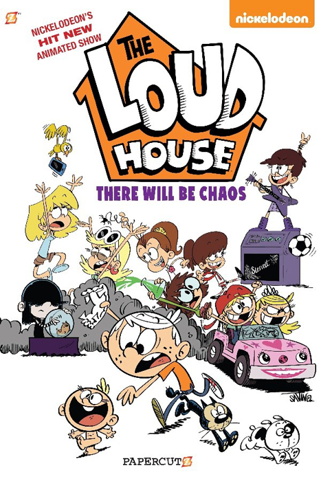 YAYBOOKS! May 2017 Roundup - The Loud House: There Will Be Chaos