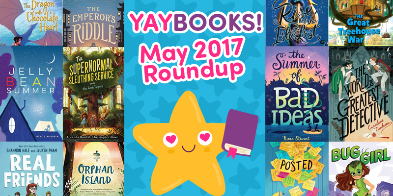 YAYBOOKS! May 2017 Roundup