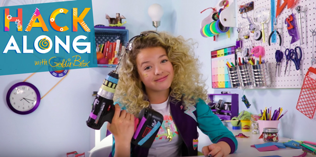 Hack Along with GoldieBlox