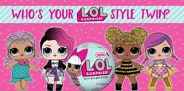 L.O.L. Surprise Style Twin Quiz