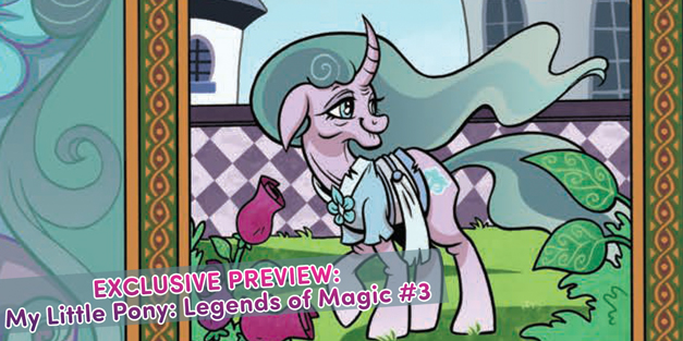 My Little Pony: Legends of Magic #3 - EXCLUSIVE Preview