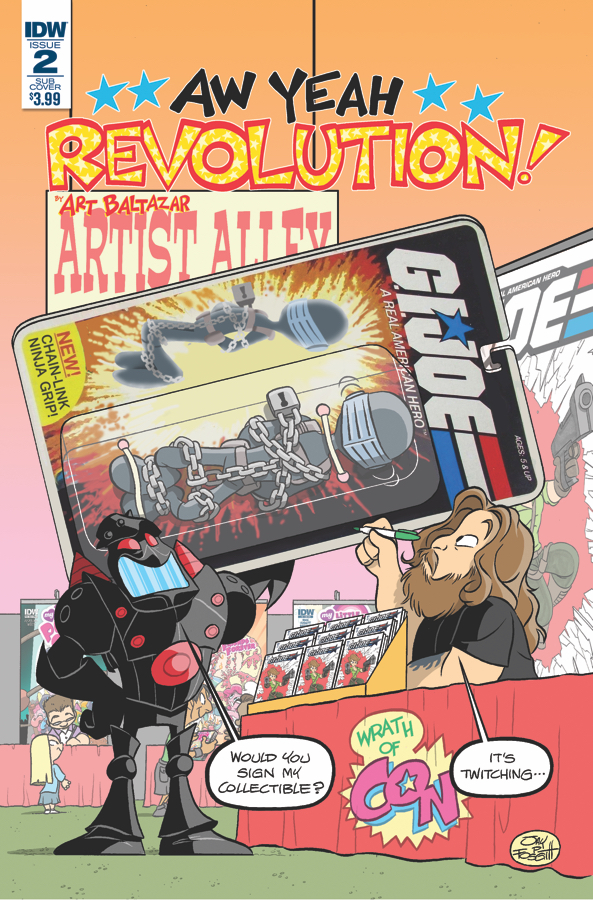 Revolution: Aw Yeah! #2 - Exclusive Preview