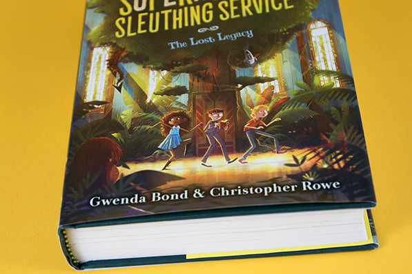 Supernormal Sleuthing Service: The Lost Legacy - Interview with Gwenda Bond