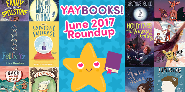 YAYBOOKS! June 2017 Roundup