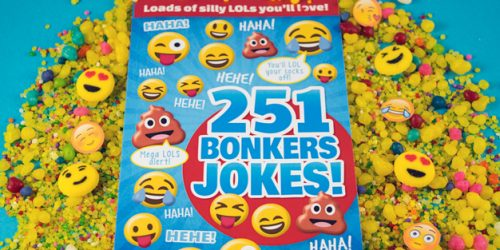 Laugh Your Butt Off with Emoji LOLS: 251 Bonkers Jokes