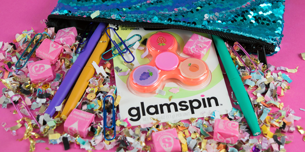Glamspin - Lip Glass Fidget Spinner