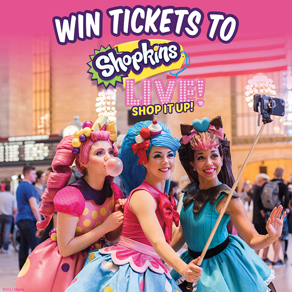 Shopkins Live! Shop it Up! Ticket Giveaway