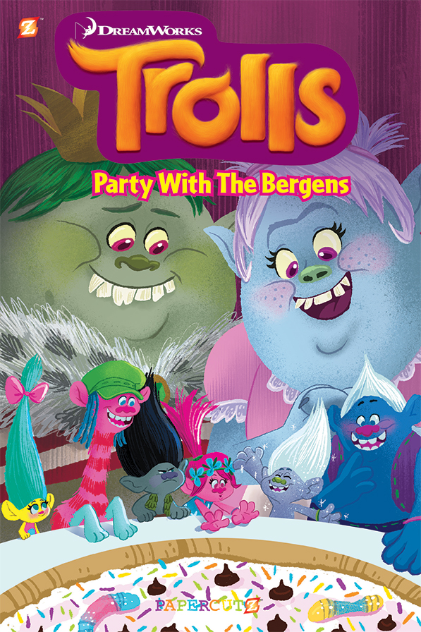 Trolls: Party with the Bergens - Papercutz