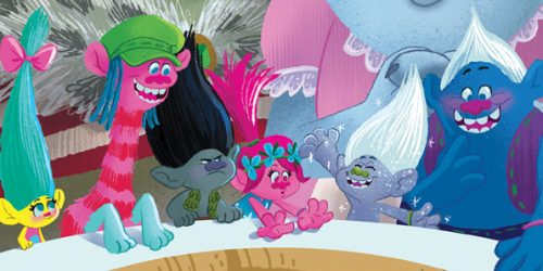 The Snack Pack are Back in Trolls: Party with the Bergens