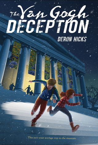 YAYBOOKS! August 2017 Roundup - The Van Gogh Deception