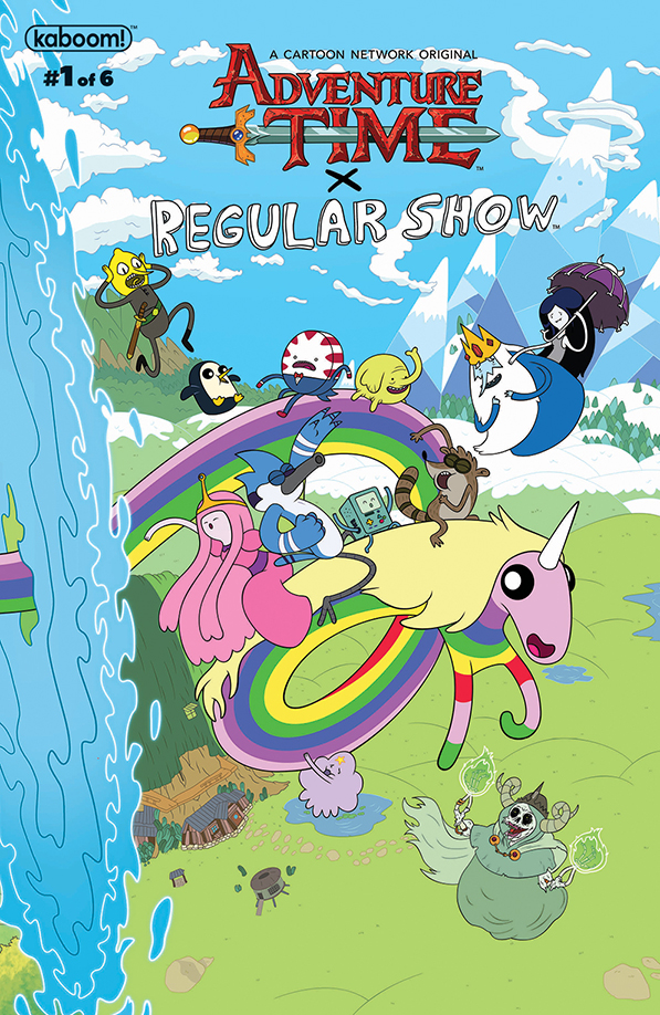 Adventure Time/Regular Show #1 - BOOM! Studios