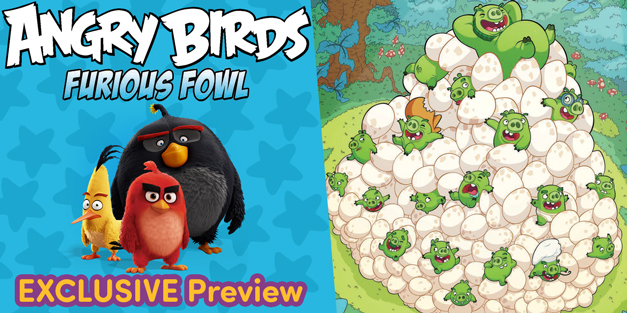 Angry Birds: Furious Fowl - IDW Publishing
