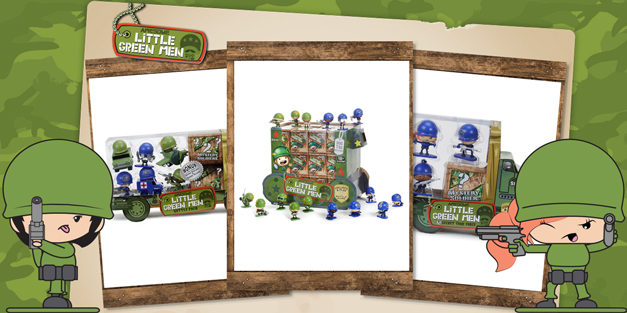 Awesome Little Green Men - MGA Entertainment