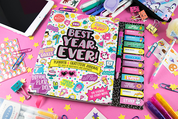 Klutz Best. Year. Ever! Planner
