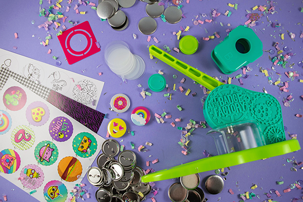Craft Amazing Pins With The Fashion Angels Badge Factory