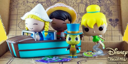 The Funko Disney Treasures: Tiny Town Box is Totally Magical