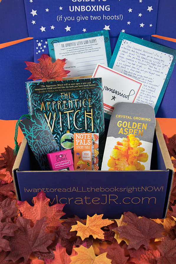 OwlCrate Jr. Into the Woods Unboxing - August 2017