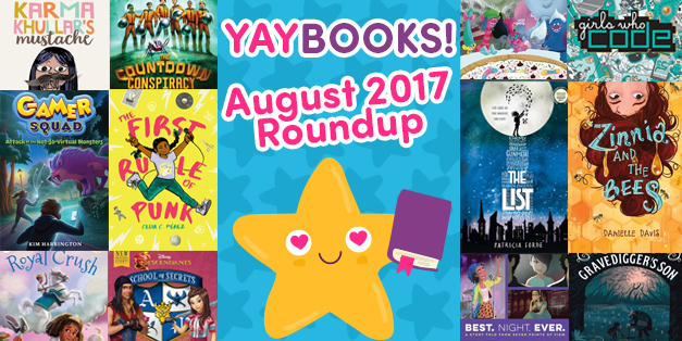 YAYBOOKS! August 2017 Roundup