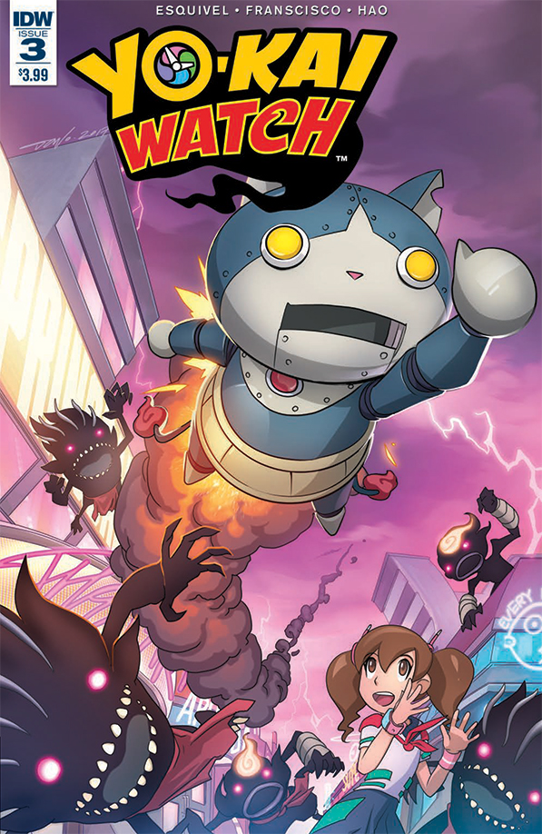 YoKai Watch #3 - IDW Publishing