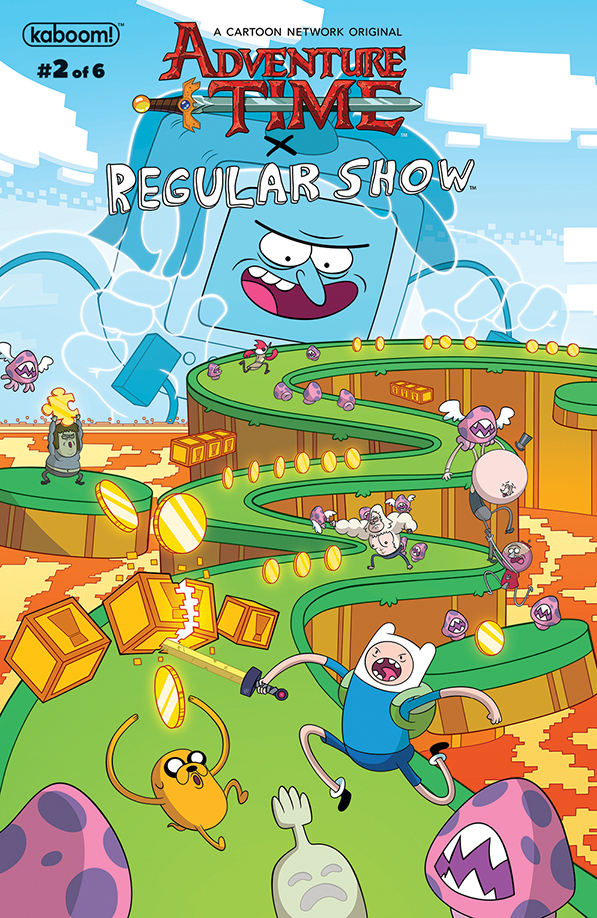 Adventure Time/Regular Show #2 - Preview
