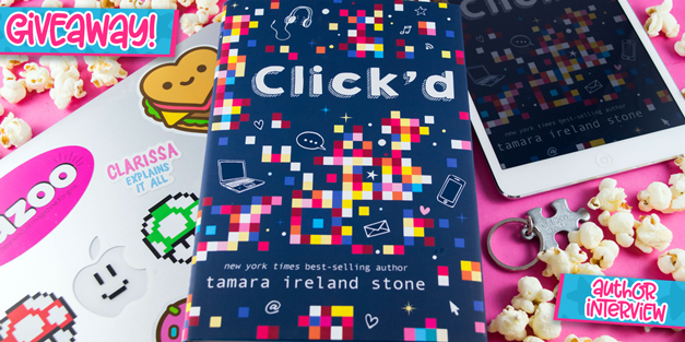 Click'd - Author Interview & Giveaway