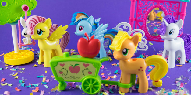 My Little Pony Tinkertoy Sets - K'NEX