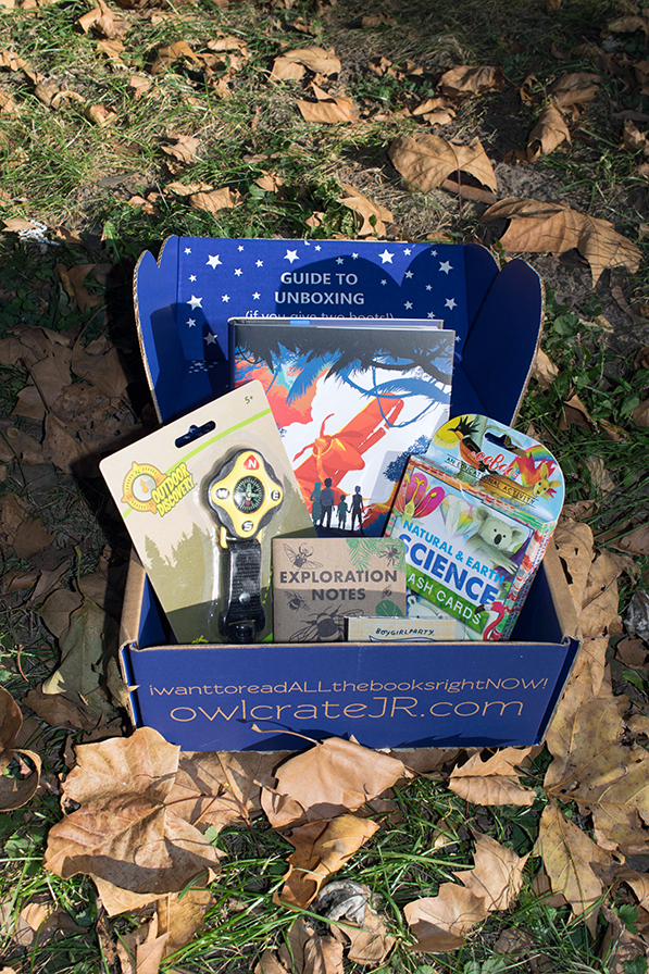 OwlCrate Jr. The Great Outdoors Unboxing - September 2017