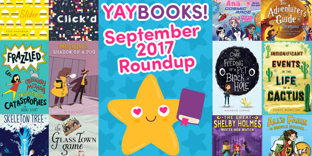 YAYBOOKS! September 2017 Roundup