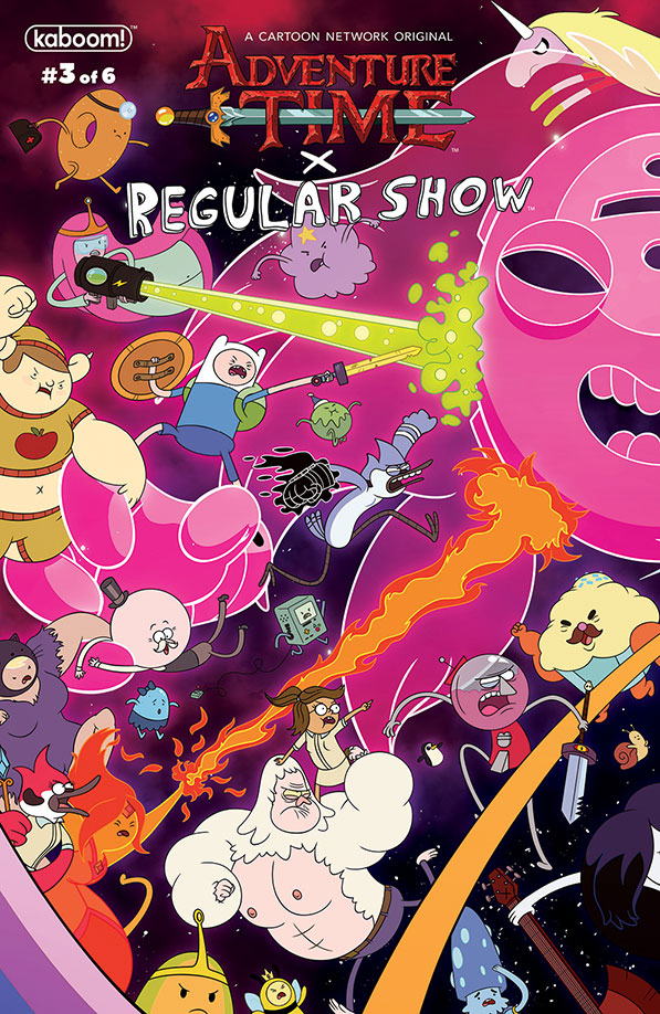 Adventure Time/Regular Show #3 - PREVIEW