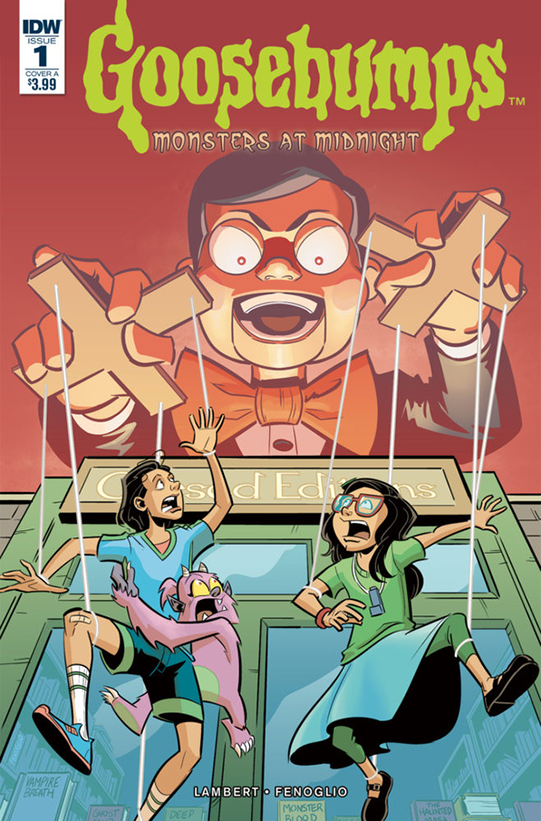 Halloween Reads: Goosebumps: Monsters at Midnight