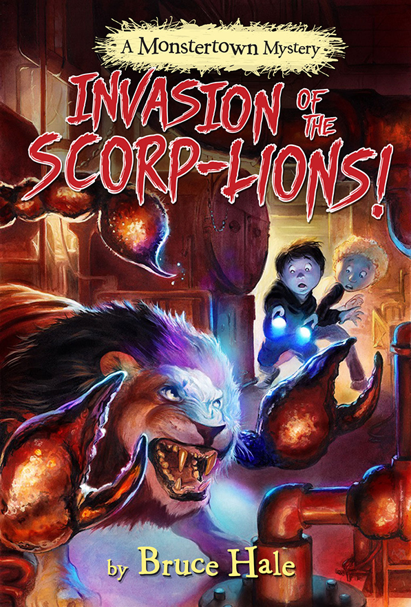 Halloween Reads: Invasion of the Scorp-lions