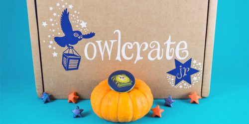 Witches and Wizards Cast a Spell on the October OwlCrate Jr. Box