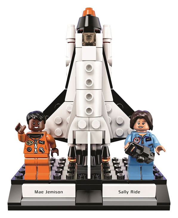 Women of NASA LEGO Set