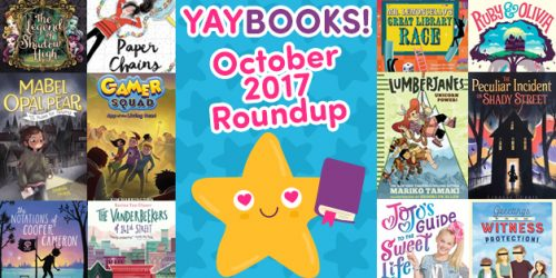 YAYBOOKS! October 2017 Roundup
