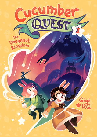 YAYBOOKS! October 2017 Roundup - Cucumber Quest: The Doughnut Kingdom