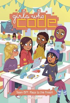 YAYBOOKS! October 2017 Roundup - Girls Who Code: Team BFF Race to the Finish