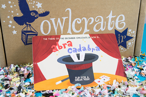 OwlCrate Jr. Curses Unboxing - November 2017