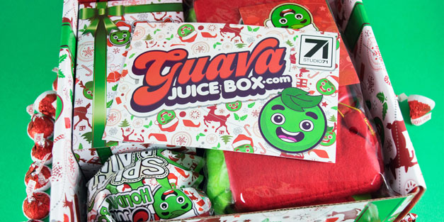 Gava Juice Toy : Take a peek inside the holiday guava juice box yayomg