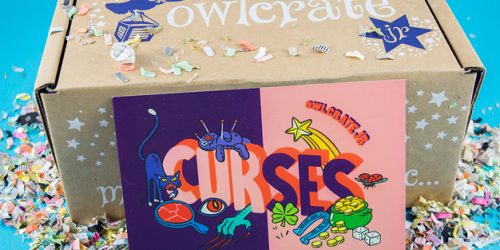 Protect Against Evil Curses with the November OwlCrate Jr. Box
