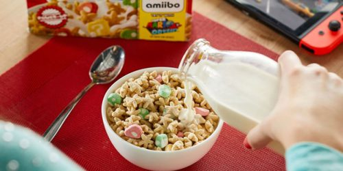 Power-Up Your Breakfast Routine With Super Mario Cereal