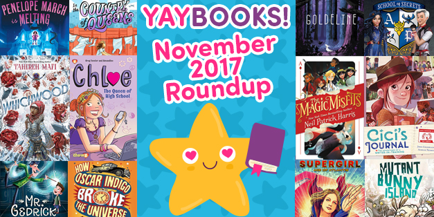 YAYBOOKS! November 2017 Roundup