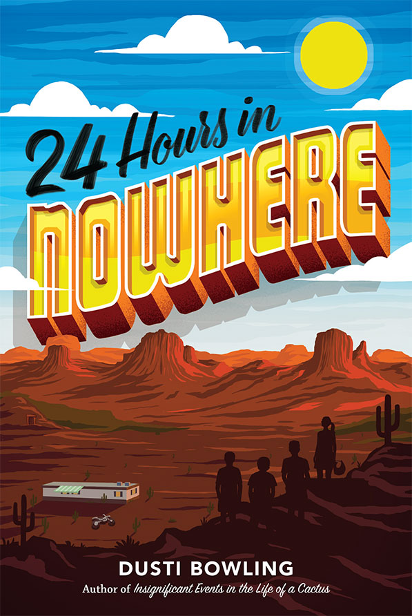 24 Hours in Nowhere by Dusti Bowling - Cover Reveal