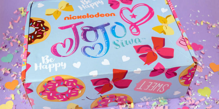 The Winter JoJo Siwa Box is an Explosion of Donuts, Hairbows, and Glitter