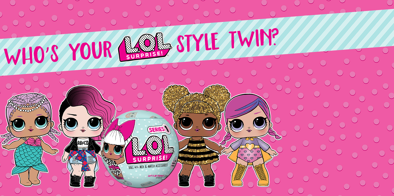 L.O.L. Surprise Style Twin