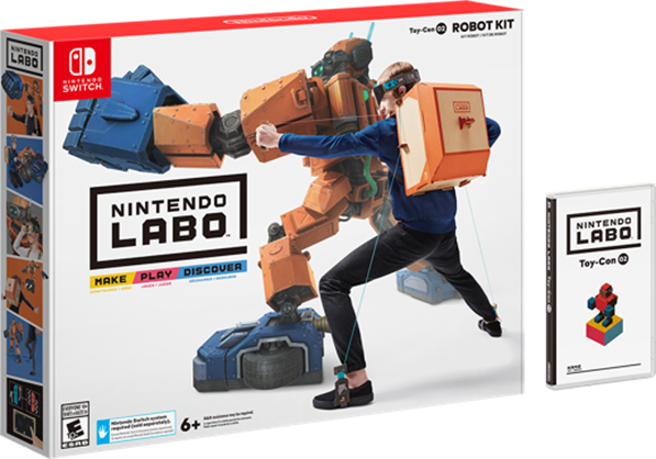 Nintendo Labo Announcement