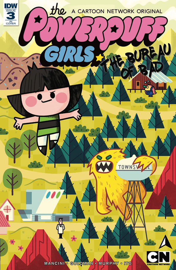 The Powerpuff Girls: The Bureau of Bad #3 - EXCLUSIVE Preview