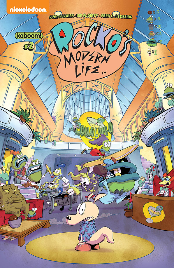 Rocko's Modern Life #2 - Preview
