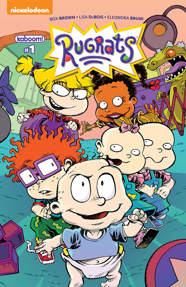 Rugrats Comic - Interview with Box Brown and Lisa DuBois
